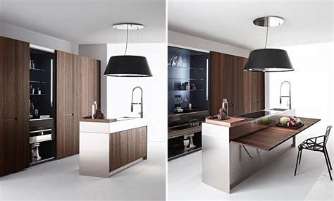 tavoli da cucina a scomparsa cucina elmar un utile tavolo scomparsa totale