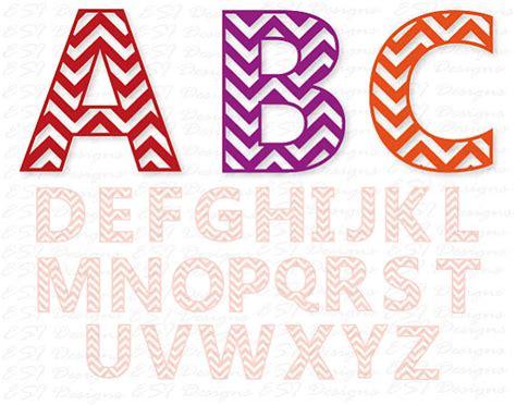 chevron pattern font free chevron alphabet monogram font svg dxf eps commercial use