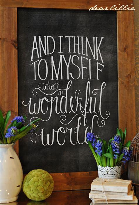 diy chalkboard printable diy wonderful world chalkboard print beneath my