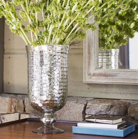 Pottery Barn Vases by Diy Mercury Glass Vase Create And Babble
