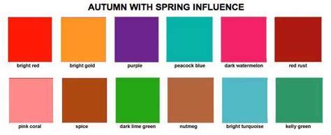 warm autumn color palette image gallery seasonal colors
