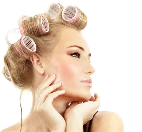 women in hair rollers woman in hair curlers dippity do pinterest