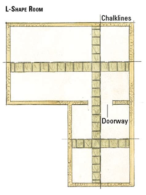 how to plan floor tile layout making a dimensional floor plan planning your tile