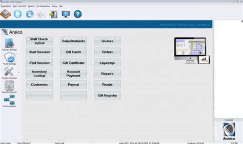 sle of c program aralco pos software 2018 reviews demo pricing