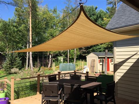 Improve Your Backyard: Install a Shade Sail