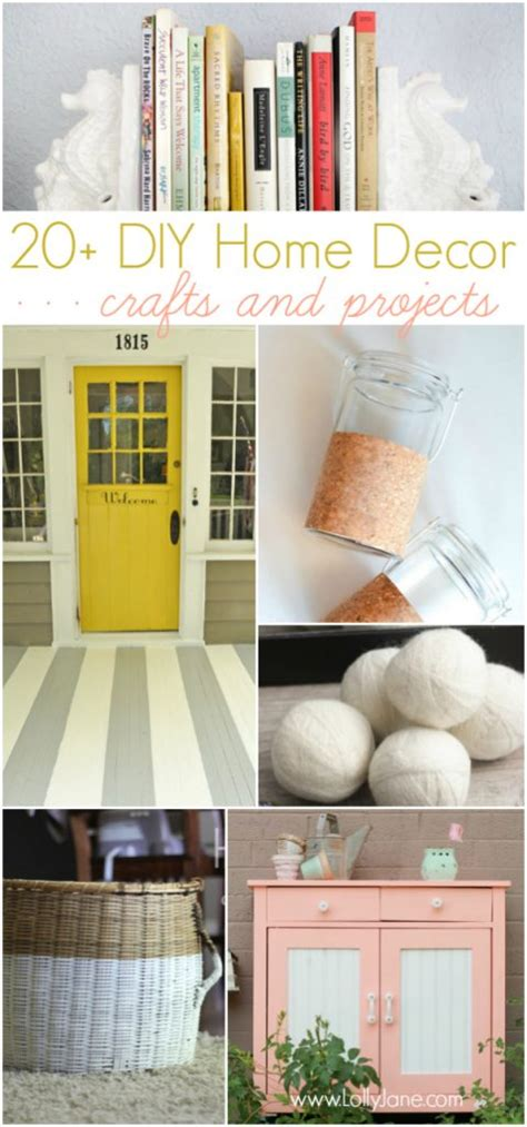 20 diy home decor ideas link party features i heart creative collection group link party