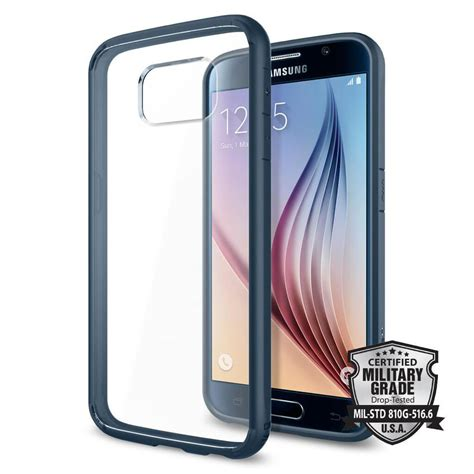 Sgp Ultra Hybrid For Samsung Galaxy S6 Oem Black 1 spigen 174 ultra hybrid sgp11313 samsung galaxy s6 metal slate spaceboy