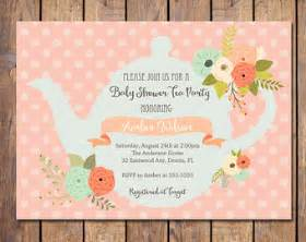 tea baby shower invitations marialonghi