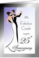 25th wedding anniversary cards from greeting card universe