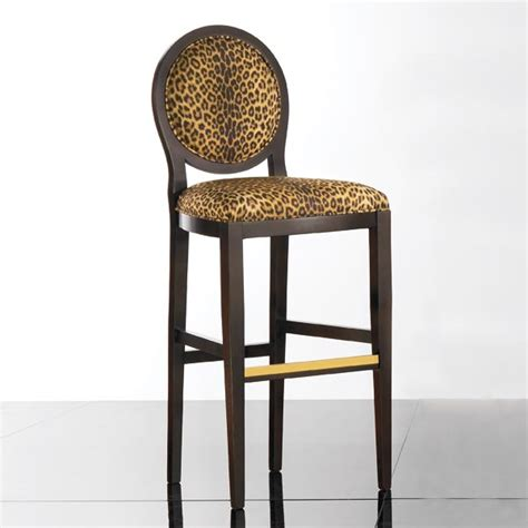Leopard Print Bar Stools by Style Barstool Anello Seven Sedie
