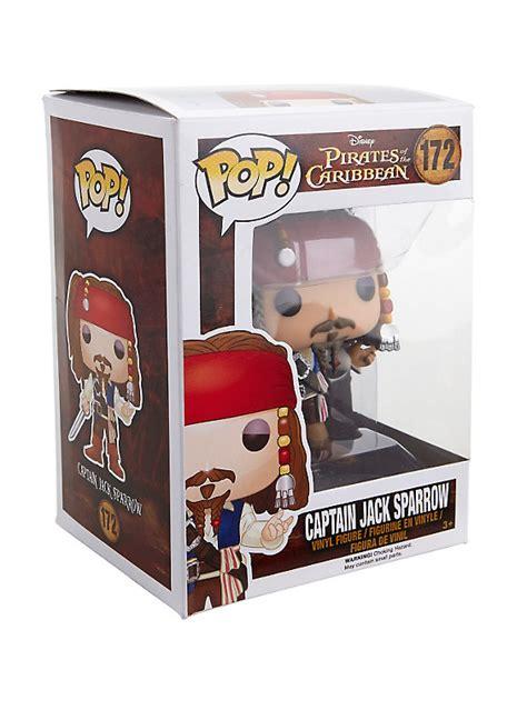 Disney Of The Caribbean Captain Sparrow Figure By funko disney of the caribbean pop captain