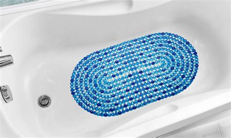 bathtub colors available crystal in tub mats groupon goods