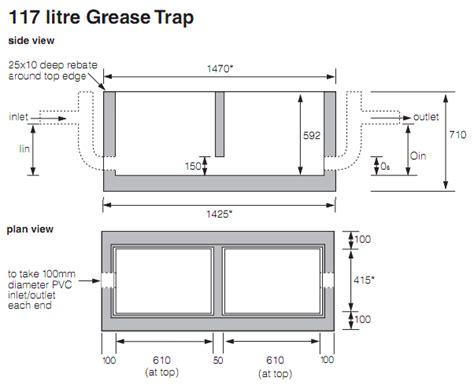Kitchen Grease Trap Design Grease Trap Design Grease Trap