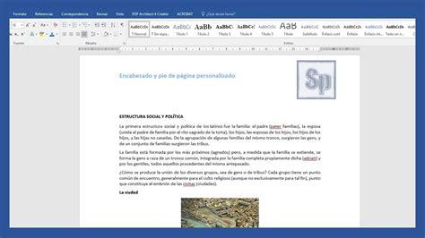 como poner imagenes que se mueven en word encabezado archivos saber programas