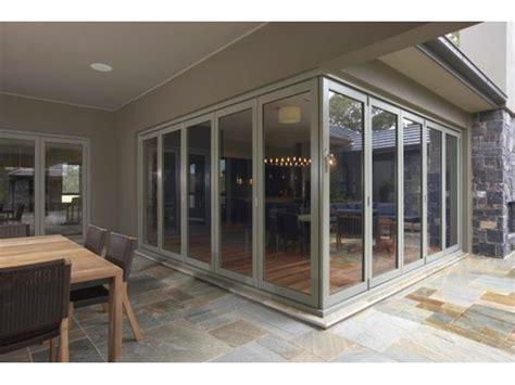 Aluminium Folding Patio Doors Aluminium Bi Fold Doors Patio Doors Stegbar Doors