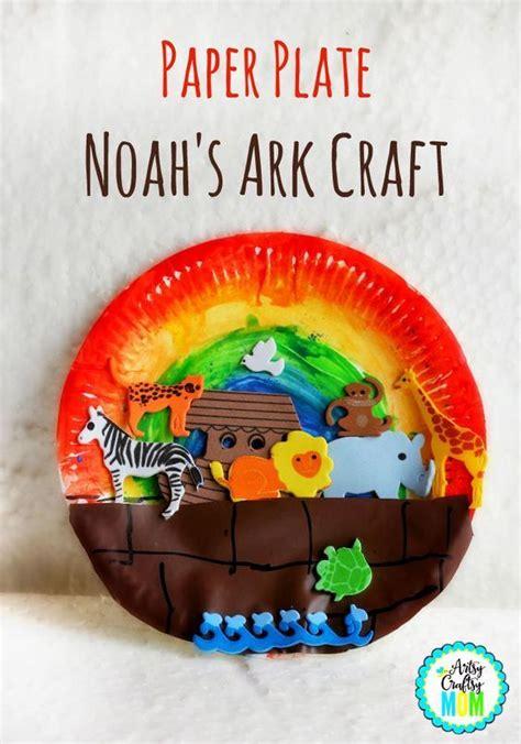 paper plate craft book paper plate noah s ark craft bible activities noah ark