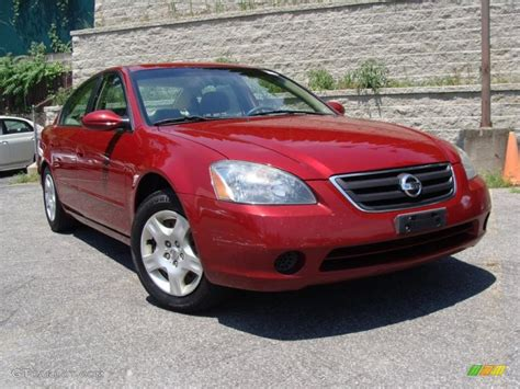 red nissan altima 2003 sonoma sunset red nissan altima 2 5 s 32966710