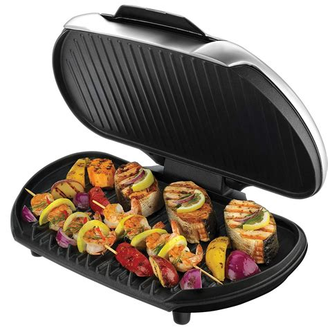 Grill Foreman by New George Foreman Gr144 Family Value Grill Free Shipping