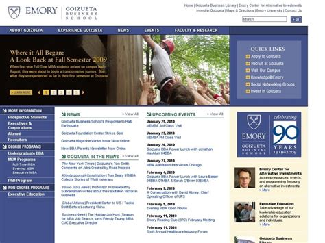 Emory Mba Ranking by Scholarships Tuition And Financial Aid Walden
