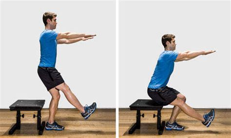 1 leg bench squat gallery single leg squat with bench