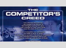 The Competitor's Creed - 8x10   FCA Resources Karate Wallpaper