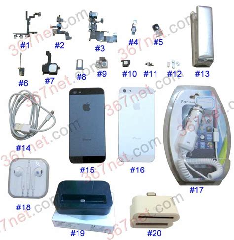 Sparepart Iphone 5 Iphone 5 Spare Parts Iphone Housing Manufacturer