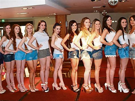 hair and makeup letterkenny 30 girls to contest miss donegal final 2016 on friday