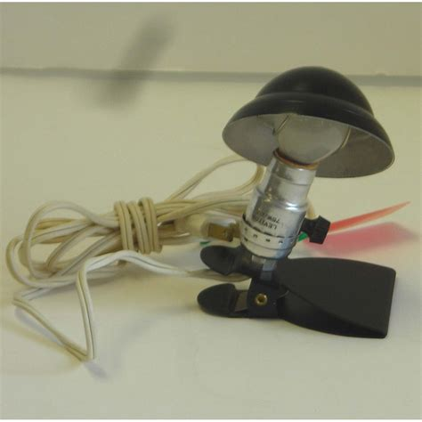 Small Clip On Light by Vintage Esterbrook Mini Clip On Reading L Black 1940s