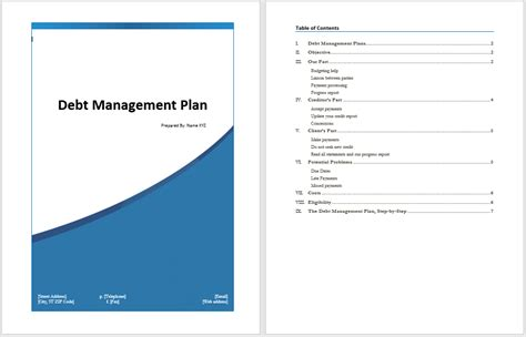 client management plan template gallery templates design