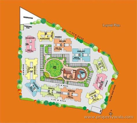 layout plan of land residential plot land for sale in kubera sankul