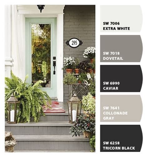 best exterior gray paint colors sherwin williams paint colors from chip it by sherwin williams i love the