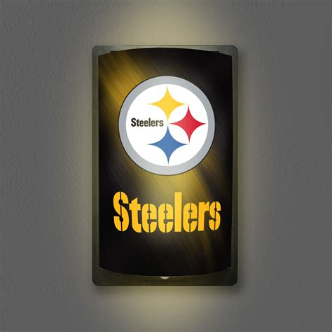light up sign pittsburgh steelers motiglow light up sign