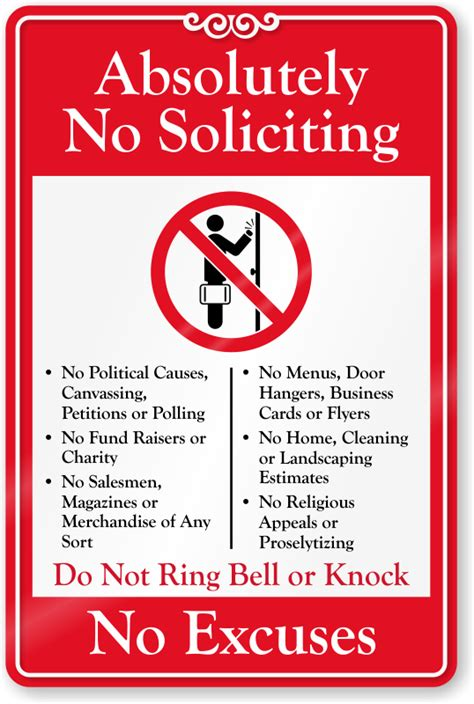 Funny Door Mat by No Soliciting Signs No Soliciting Decals