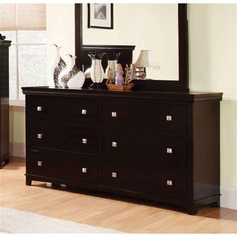 furniture of america fanquite 4 furniture of america fanquite 6 drawer dresser in espresso idf 7113ex d