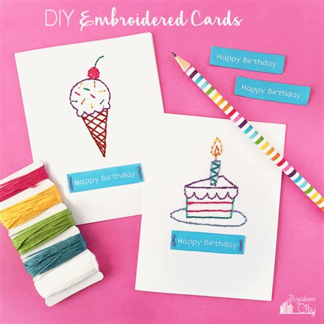 card diy 13 diy birthday cards that are shelterness
