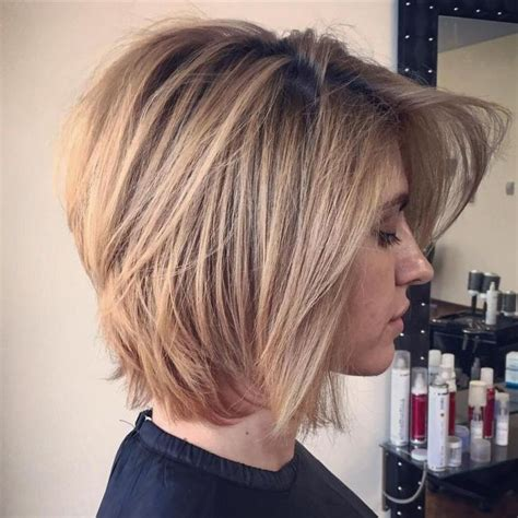 bob hairstyles layered and cut fuller over ears the 25 best ideas about layered bob hairstyles on