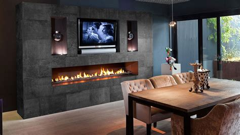 Luxury Gas Fireplace by Fireplaces I Designer Fireplaces I Luxury