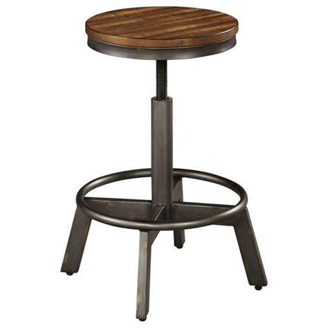 signature design  ashley torjin rustic stool