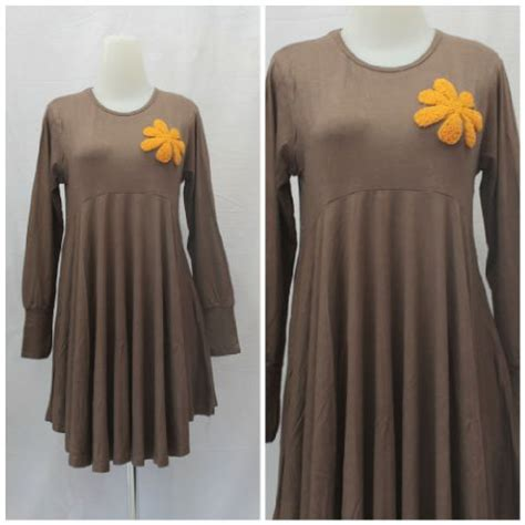 Mukena Muslimah Wanita 1 Blouse Wanita Muslimah Terkini Baju Blouse Modern Najwa
