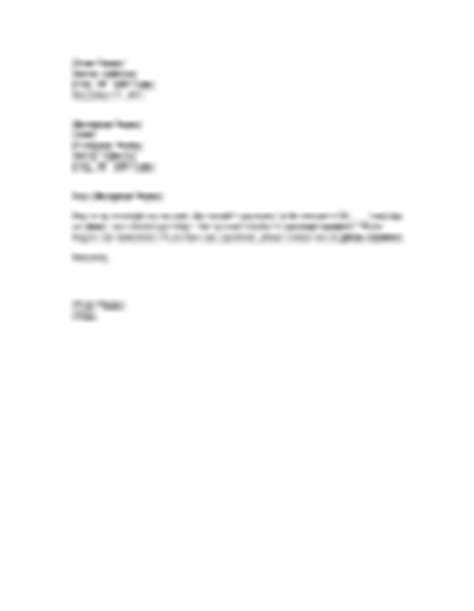 Credit Card Late Payment Forgiveness Letter Letter Of Apology For Late Payment
