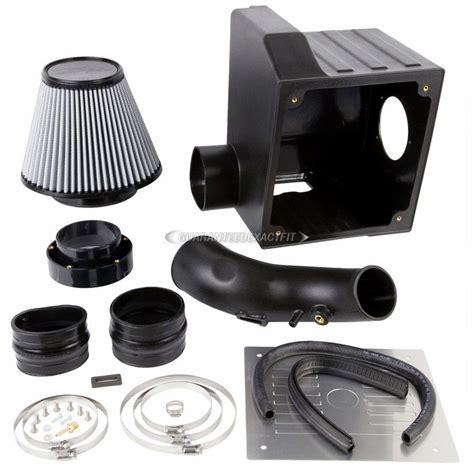 toyota tundra air intake performance kit parts view