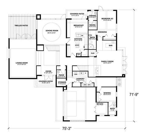 high resolution concrete block home plans 5 concrete