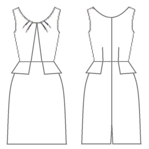 Drawing A Pattern For Dress | easy dresses to draw joy studio design gallery best design