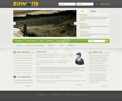 web 2 0 clean joomla template by princepal on deviantart