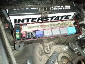 Connected Car Battery Wrong Blown Alt Fuse Connected Battery Cables Wrong Club
