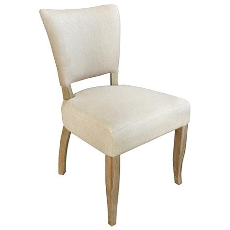 Nailhead Dining Chair Loire Country Light Beige Linen Oak Nailhead Dining Chair Set Of 2 Side