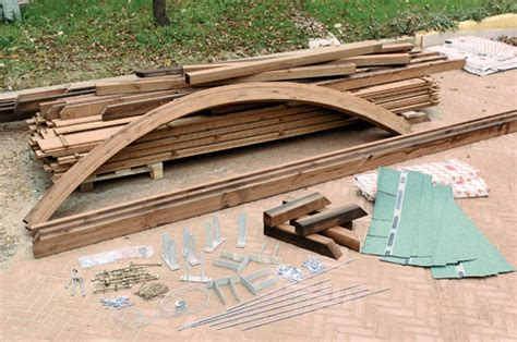 carport box auto legno lamellare prezzi installare il carport in legno bricoportale fai da te e