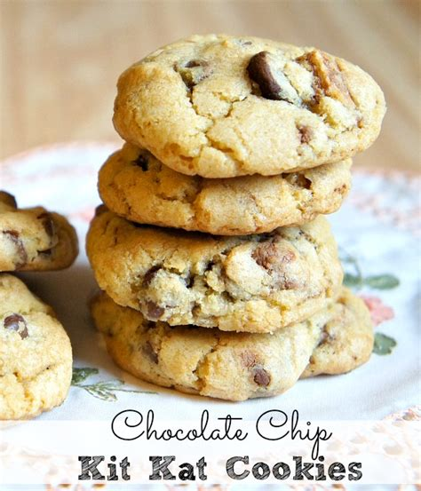 Cookies Kitkat by Chewy Chocolate Chip Kit Cookies Recipe The Rebel