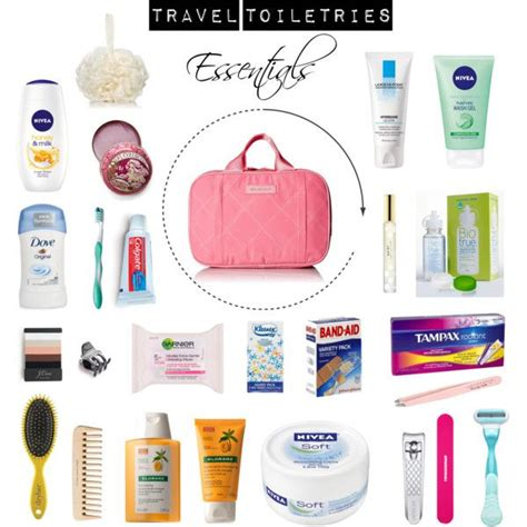 Toiletries Travel by 25 Best Ideas About Travel Toiletries On