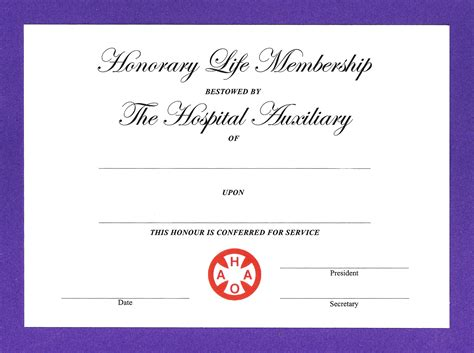 life membership certificate templates my future template